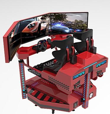 精敏9DVR三屏動感賽車8D賽車模擬駕駛VR摩托車廠家直銷、租賃