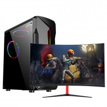 【99新】i5-9400F/16G 高端游戏主机 组装电脑