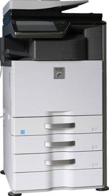 溫州落地大型中高速激光復印打印機一體機租賃A3黑白彩色