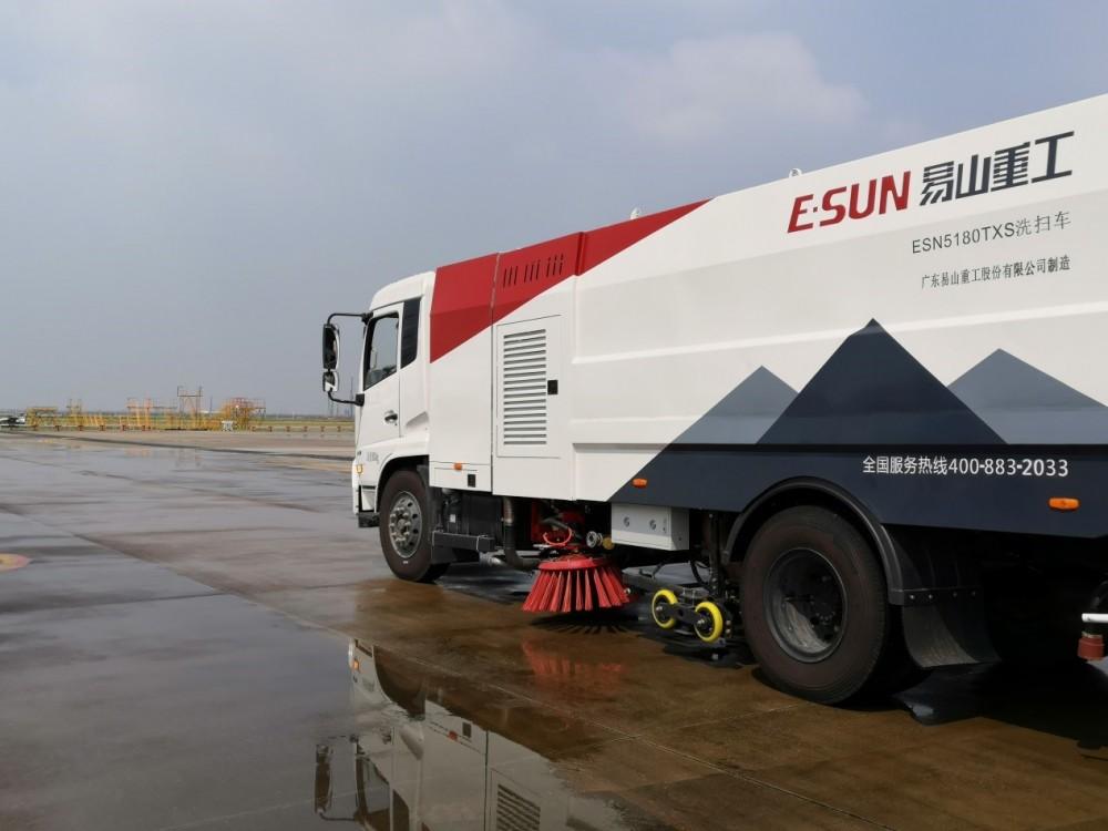 濕式掃路車清掃車出租-易山重工