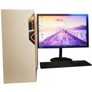 英特尔Thurley台式电脑主机吃鸡游戏神器至强六核独显4G