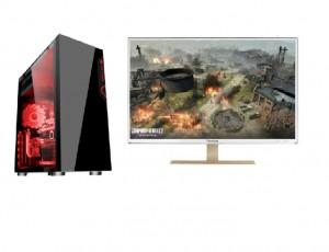 酷睿I5 i7游戏电脑LOL CF 和平精英