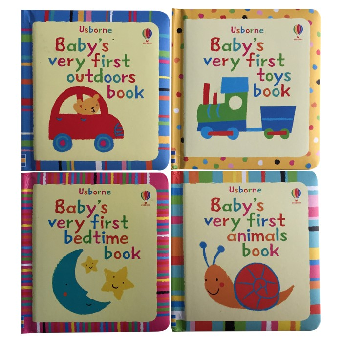 Baby's Very First Toys book(一套4本)