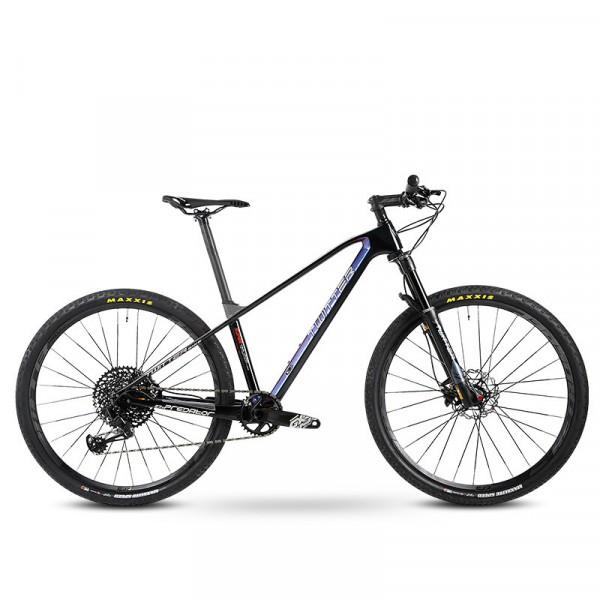 骓特碳纤维山地自行车12速山地车SRAM XX1自行车男女单车铁血战士