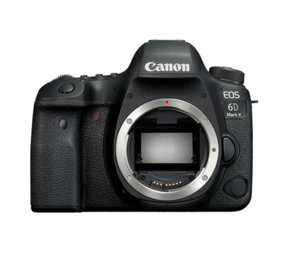 佳能 EOS 6D Mark II 单反相机(仅机身)