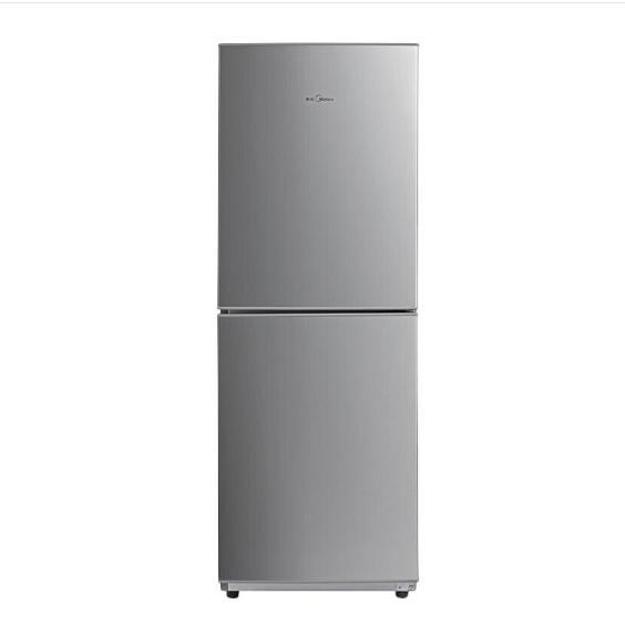美的(Midea)雙門電冰箱 176升小型家用冰箱 節能...