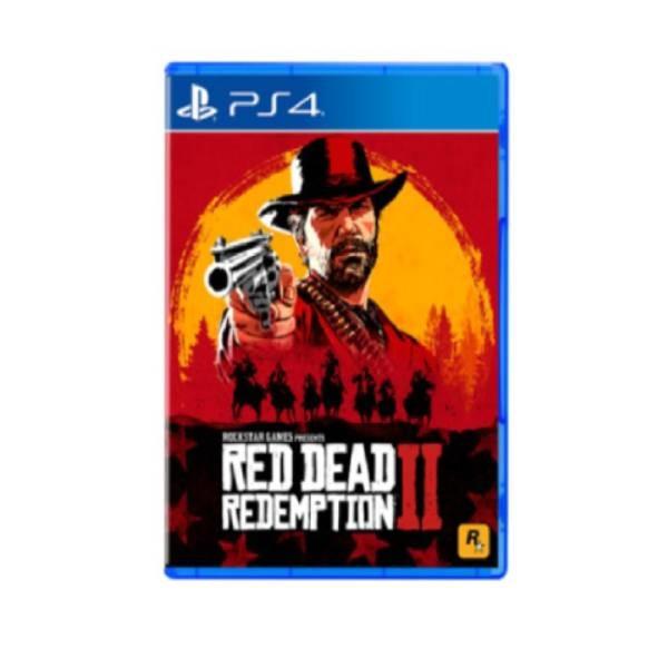 索尼PS4游戏光盘出租  荒野大镖客2:救赎 租赁