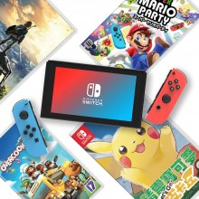 任天堂 Switch 主机+游戏套装