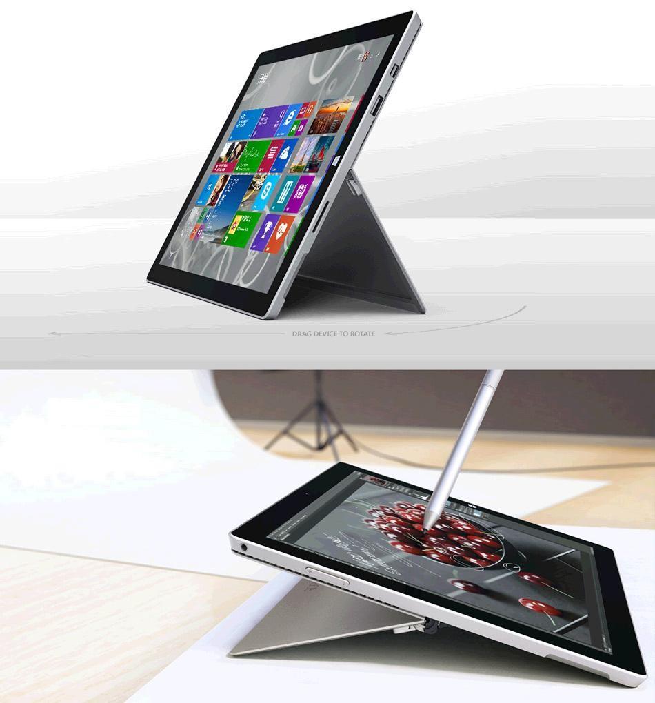 微软 Surface Por3  12.3寸平板电脑(不配送键盘)