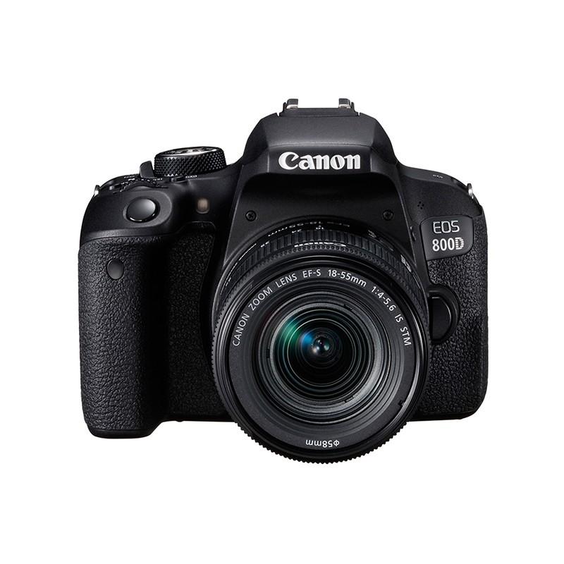 佳能EOS 800D(18-55) 单反相机套机 美颜自拍 Vlog
