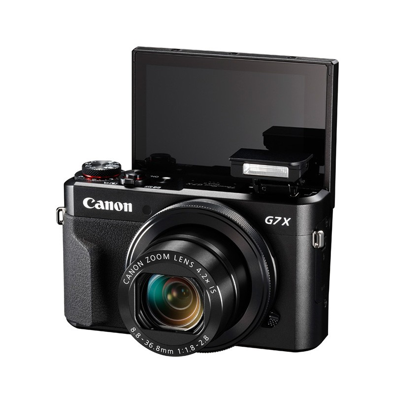 佳能PowerShot G7X2数码相机 美颜自拍 Vlog视频拍摄