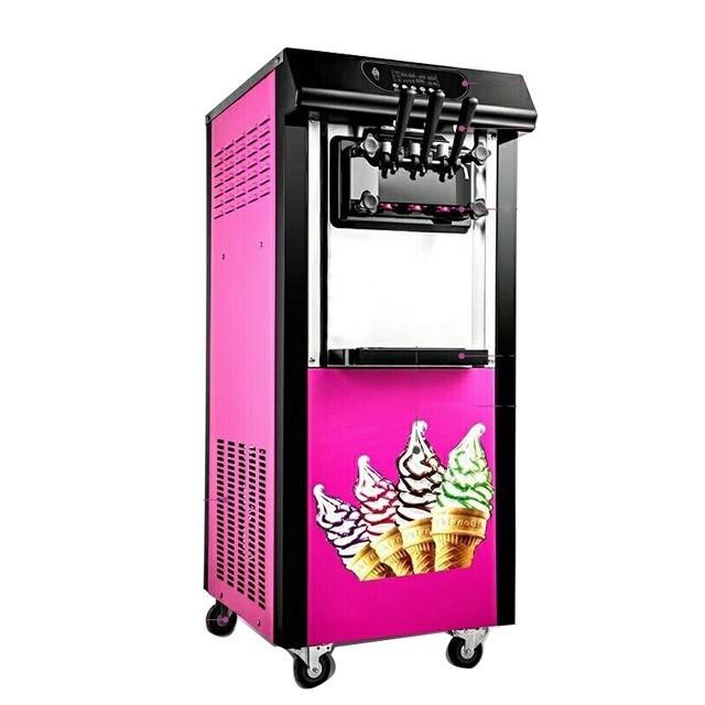 【全新】冰淇淋機商用全自動立式