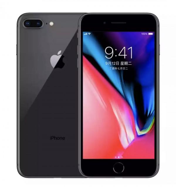 苹果8P 64G黑色,iPhone8plus全网通非国行98新