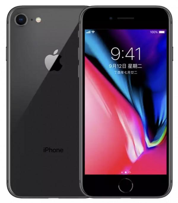 苹果8 64G黑iPhone8全网通无锁,非国行98新,其他颜色请备注