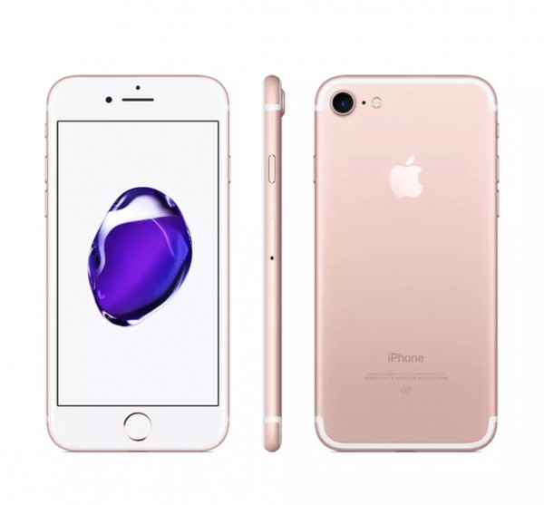 苹果7 128G粉iPhone7两网 无锁 非国行 95新 二手