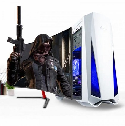 【爆款】全能电竞游戏电脑!超级性价比!电竞显示器!游戏键盘鼠标!包邮