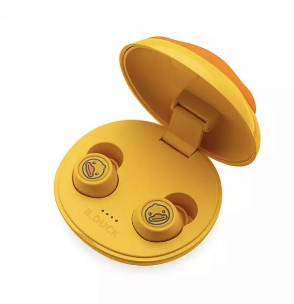 全新原封 小黄鸭蓝牙耳机B.cuck无线蓝牙耳机