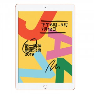 Apple苹果 2019款 iPad 10.2寸