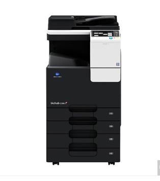 柯尼卡美能达bizhub C266彩色数码复印机(双纸盒+送稿器)