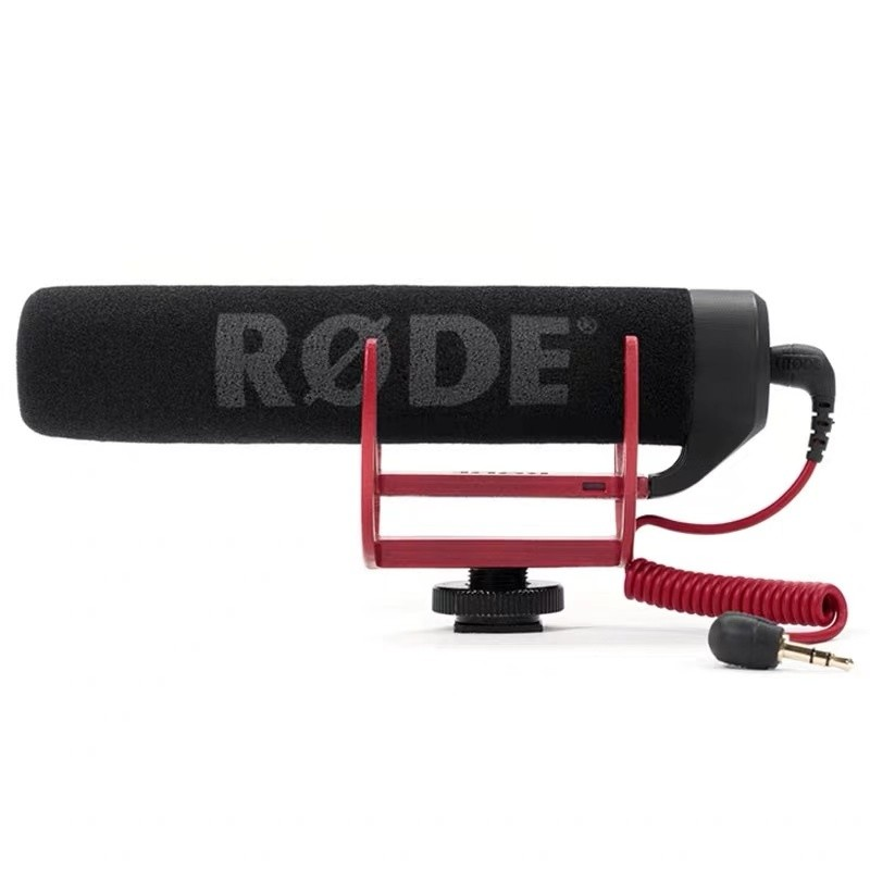 Rode罗德 videomic单反摄像机轻便机头麦录音话筒3.5口