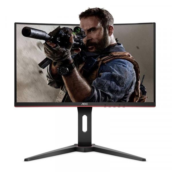 顯示器 27英寸 曲面屏 AOC 144Hz刷新率 C27G1