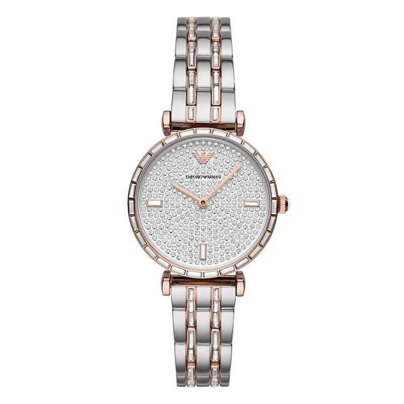 2020年新款阿瑪尼女士手表滿天星滿鉆石英女表 到期買斷