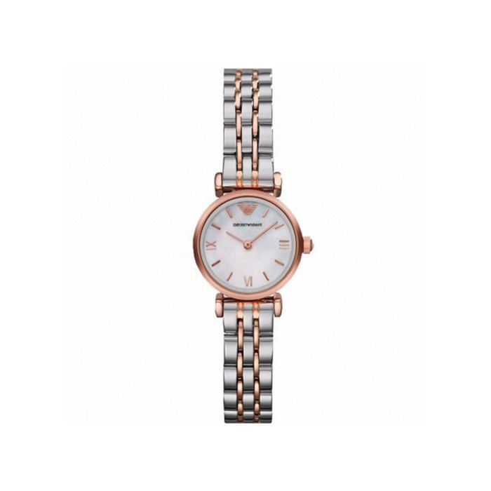 阿玛尼 女士贝母表盘石英手表 时尚休闲潮流女士手表 租满一年即送