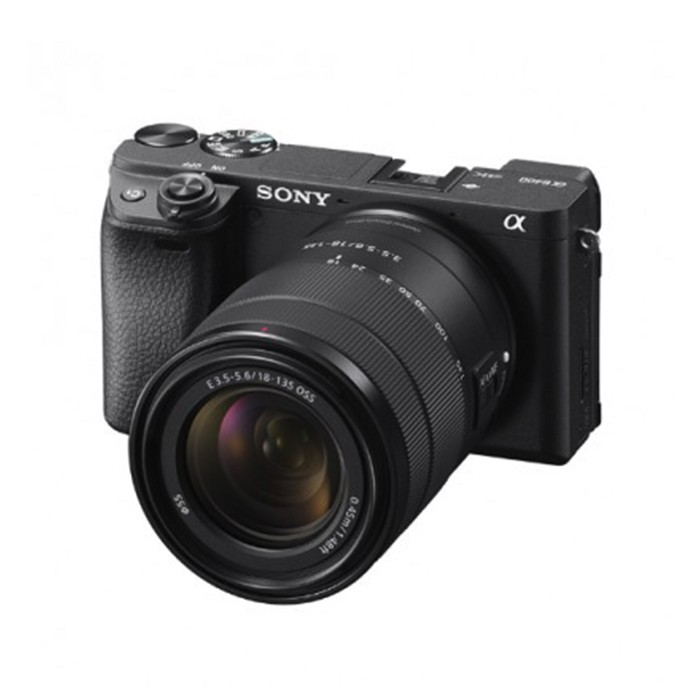 索尼a6400微单相机套机带16-50镜头高清4K