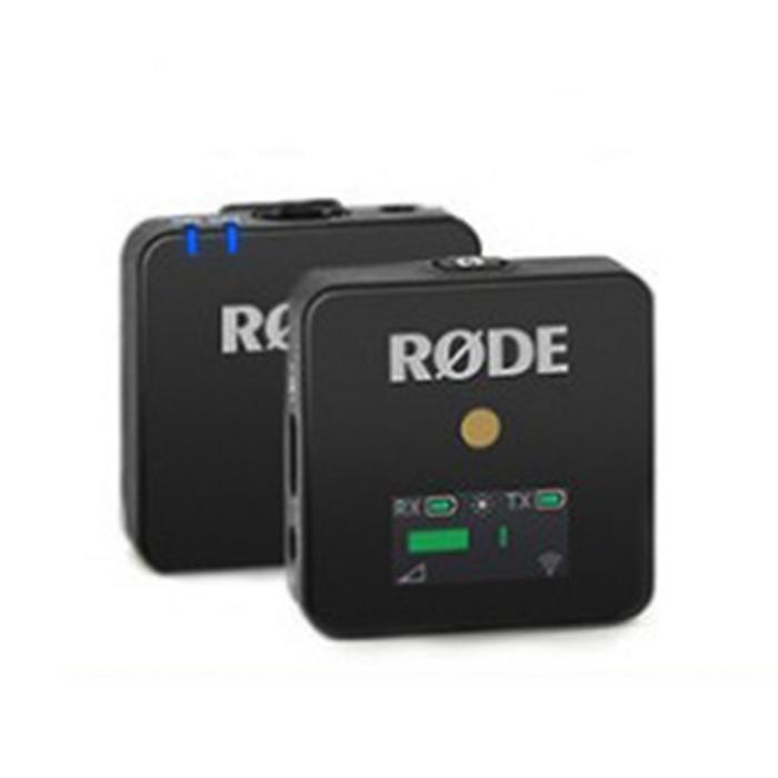 RODE罗德wireless go无线麦克风单反相机领夹话筒小蜜蜂采访