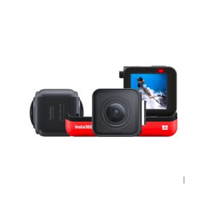 Insta360 ONE R高清防抖防水Vlog相机双镜头版本