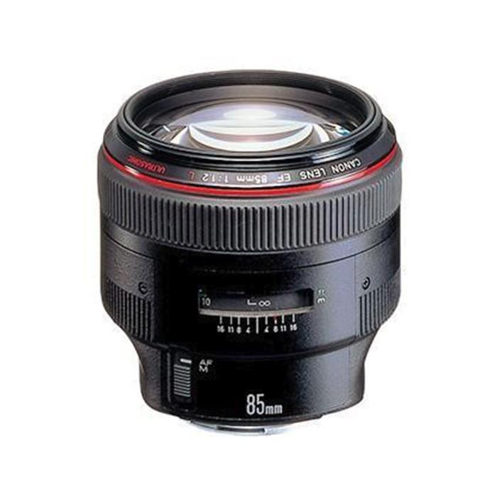 佳能 85mm f/1.2L II USM二代紅圈單反鏡頭人像王