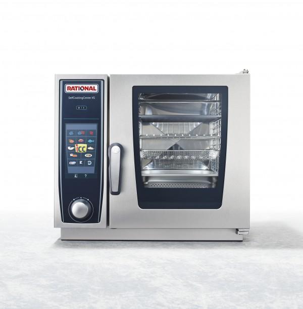 RATIONAL万能蒸烤箱 德国原装进口SCC XS 6 2/3六层电