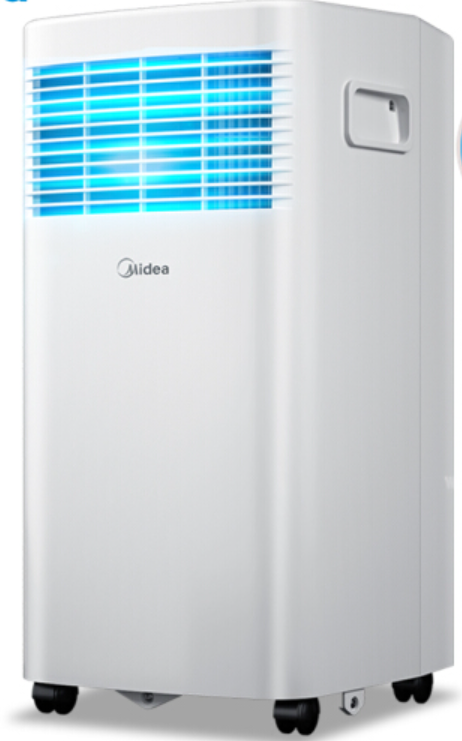 美的(Midea)移動空調免安裝便捷立式空調