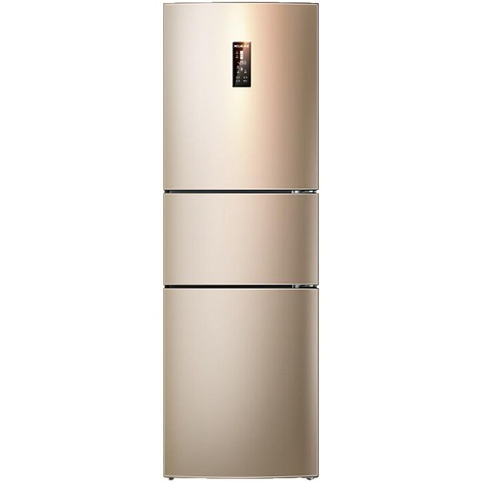 美菱(MELING)252升风冷无霜 大冷冻力 三门冰箱