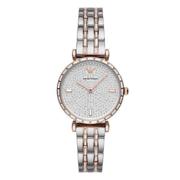 2020年新款阿玛尼女士手表满天星满钻石英女表 到期可买断