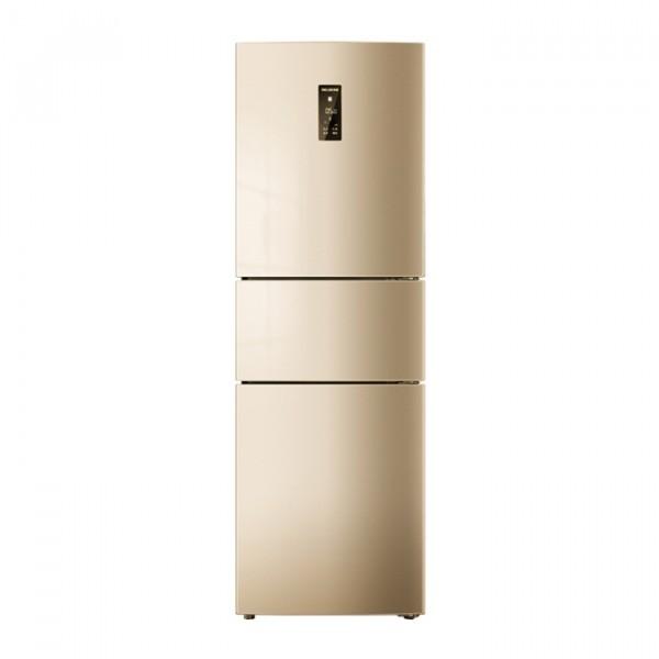 美菱(MELING)219升 三門小型電冰箱多門 風冷無霜 節能靜音