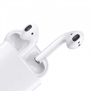 Apple二代新款AirPods(配有线充电盒)