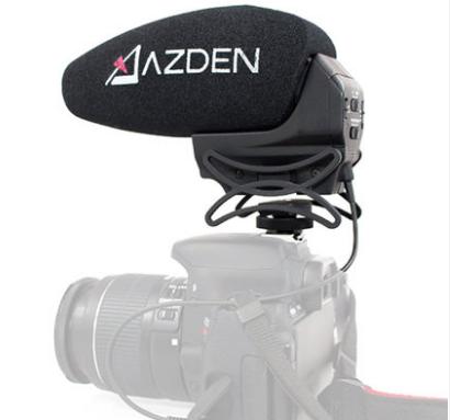 Azden阿茲丹SMX-30單反相機機頭話筒麥克風