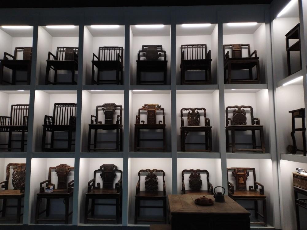 古典家具雕花太师椅