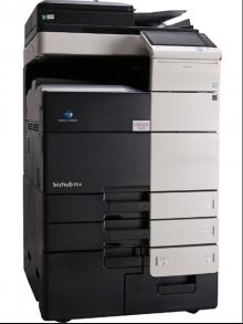 柯尼卡美能达364黑白A3带扫描打印大型复印机