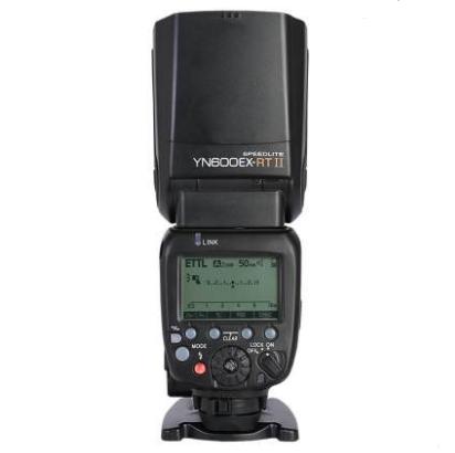 永诺yn600exII二代闪光灯佳能相机TTL高速同步外接外置热靴机顶