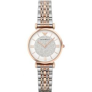 阿瑪尼手表(Emporio Armani)滿天星石英女表 到期買斷