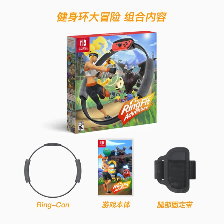 任天堂健身環大冒險體感Switch游戲