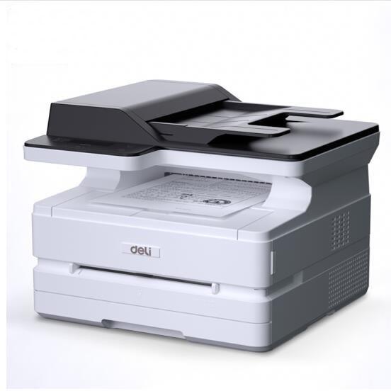 得力带网络D25打印、复印、扫描一体机A4