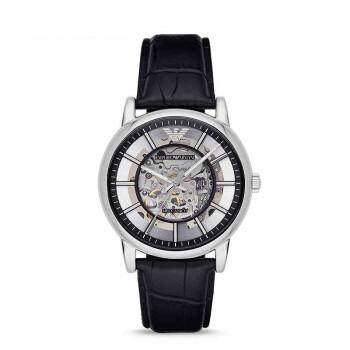 阿玛尼( Emporio Armani)手表 商务时尚全自动机械镂空男