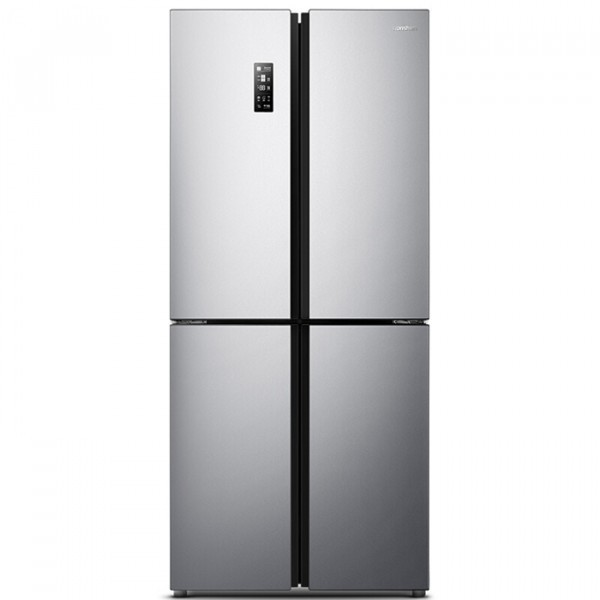 容声(Ronshen) 426升 十字对开变频冰箱 36分贝静音节能