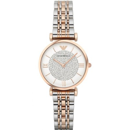 阿瑪尼手表(Emporio Armani)滿天星石英女表 租滿即送