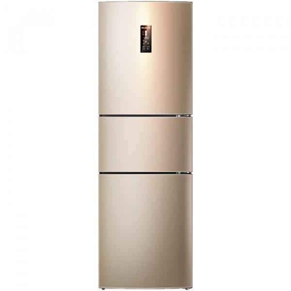 美菱(MELING)252升風冷無霜 大冷凍力 三門冰箱