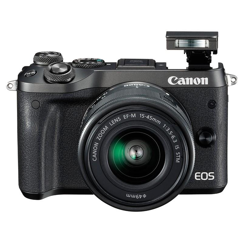 佳能 M6 EOS 数码相机套机(含15-45mm镜头)