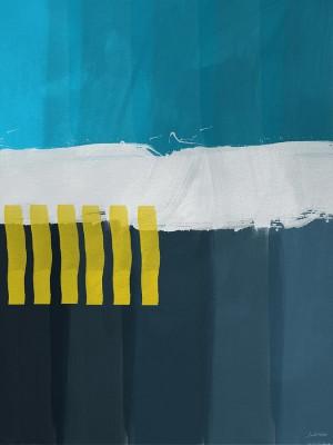 簡約美式 別墅輕奢客廳裝飾畫大氣沙發背景大幅壁畫抽象掛畫